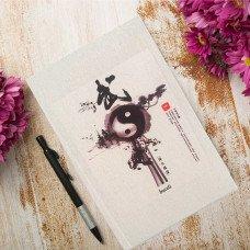 Çince Kanvas Defter -1809 Yin-Yang