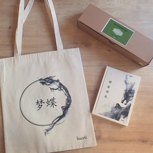 Seçmeli Çince Çanta & Defter & Kelime Kartı Hsk 4