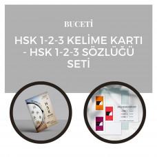Hsk 1-2-3 Kelime Kartı & Hsk 1-2-3 Sözlüğü Seti