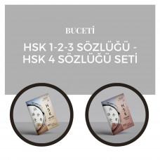 Hsk 1-2-3 Sözlüğü  & Hsk 4 Sözlüğü Seti