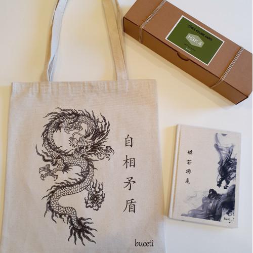 Hazır Çince Çanta & Defter & Kelime Kartı Hsk 4